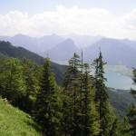 Blick vom Schafbergweg
