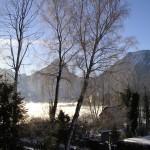 Wintermorgen im Intermezzo
